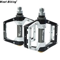 Road Bikes outdoor lighting parts - 2015 BMX Mountain Bike DH Pedal quot Die Flying Parts Super Strong Ultra Light Platform Cycling Pedals Magnesium Outdoor Sports