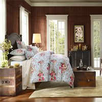 Wholesale Egyptian Sheet - Home textile Classic American country style 100% luxury Egyptian cotton 4pcs Bedding sets Riches honor peony full king queen size bed sheet