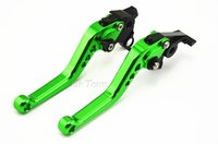 Wholesale Cbr F2 Clutch Lever - 2pcs CNC Long&Short Adjuster Brake Clutch Levers For CB599 CB600 CBR 600 F2 F3 F4 F4i CB919 CBR900RR VTX1300 NC700 Free Shipping