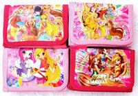 Wholesale Party Winx - 36 Pcs Cute Winx Club Coin Purse Cute Kids Cartoon Wallet Bag Pouch Children Purse Small Wallet Party Gift