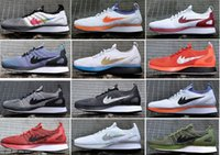 2017 Air Zoom Mariah Racers 2 Hombres Mujeres Top Quality Casual Racers II 2018 Negro Blanco Azul Naranja Ligero Breathable Walking Shoes 36-45