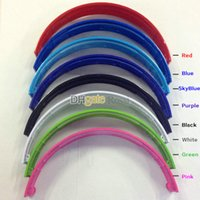 Wholesale Headphone Parts - Glossy shine 8colors Replacement Top Headband head band parts for solo and solo hd headband headphones headset with screwdriver screws