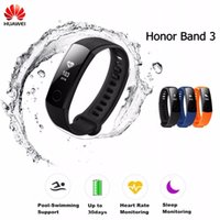 """Wholesale Free Gps Monitoring - Smart Wristband Honor Band 3 Smart Watch Swimmable 5ATM 0.91"""" OLED Screen Touchpad Heart Rate Monitor Free Shipping"""