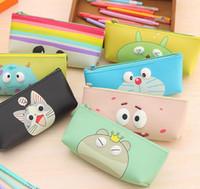 Wholesale Cute Pen Purse - Wholesale- CUTE Cartoon UP 7Models Chi's Cat Etc. - Pen Pencil BAG Case Pouch Cosmetics Purse BAG & Wallet Coin Holder Pouch