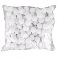 Wholesale White Pong Balls - 150 Pcs 38mm White Beer Pong Balls Balls Ping Pong Balls Washable Drinking White Practice Table Tennis Ball
