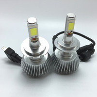 32W 12V 6400LM LED Headlight Headlamp Auto Conversion Car Kit CREE H1 H7 H11 880 9005 9006 6400LM Blanc Light All In One Livraison gratuite