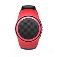 bilek telsizleri toptan satış-Bilek Spor Mini Bluetooth Hoparlör Üzerinde B20 Kablosuz Müzik Izle Öz-zaman Anti-Kayıp Destek TF Kart FM Radyo Handfree hoparlör
