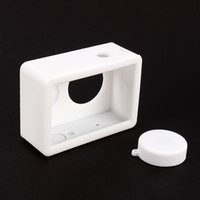 Wholesale Ant House - Camera Case For Xiaomi Yi Silicone Rubber Skin Housing With Protective Lens Small Ants Cover Cap Accessories