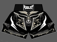Wholesale K L - PUGILIST MMA K-1 short helmet MUAY THAI SHORTS FIGHT SHORTS sport Muay Thai Boxing shorts The new brand of good quality