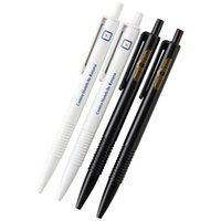 Wholesale Office Stationery Advertising Pen - 100pc lot Advertising Customized Logo Print Ballpoint Pen Print Logo Text Company Name Promotional Stationery Gift Free Shipping