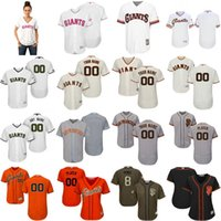 Wholesale Number Hunter - Custom Men Women Youth San Francisco Giants Jerseys Hunter Pence Any Name Your Name And Number Jersey Gray White Red Home Away Cool Base bas