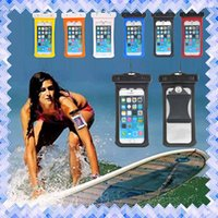 Wholesale waterproof case bag for galaxy for sale - Group buy Universal Waterproof Phone Cases CellPhone Dry Bag Cases For Samsung Galaxy S7 Edge J1 J3 J5 A3 A5 A7 iPhone s Plus