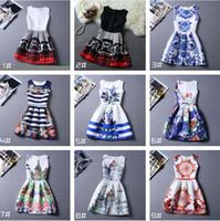 Wholesale Satin Briefs For Women - S-XXXL Dresses For Women Flower Summer Baby Dresses Wedding Party Tutu Korea Fashion Princess Big Size Big 2016 New Arrival