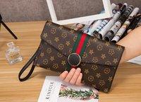Wholesale Leopard Purses Envelope - 2018 new small solid plaid geometric lingge envelope handbag hotsale women clutch ladies purse crossbody messenger shoulder bags