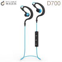 Wholesale Syllable Wireless Bluetooth Headphones - 5pcs 100% Original Syllable D700 Wireless Sports Bluetooth earphone Professional Training Bluetooth 4.1 Stereo Headphone Earhook Earphones.