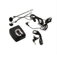 Wholesale Helmet Motorcycle Intercom - Motorbike Helmet to Helmet Communicator Motorcycle Intercom Set With Audio MP3 Input New Headsets Free Shipping