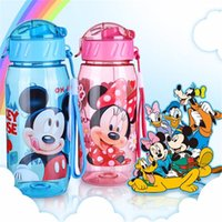Wholesale Sport Bottles Cartoon - Baby Bottles Eco-friendly PP Kid Bickiepegs baby cups baby cartoon water bottle children Straw Bottle Child kettle sports bottle