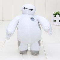 Wholesale Kids Animal Toys Move - 7inch 18cm hands can not move Baymax Big Hero 6 Stuffed doll Animals Plush Toy children gift kids toys