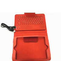 Wholesale Version Silence Design Bluetooth Keyboard For Ipad Mini Red