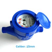 Wholesale Electrical Dryer - LXSR 15-20mm Plastic Rotor Wet Dry Type Water Meter B Grade Liquid Cold and Hot Flowmeter Work Pressure Less Than 1 MPa