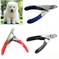 Wholesale Good Nail Clippers - New Arrivel Good Quality Pet Nail Toe Clipper Cutter for Dogs Cats Birds Guinea Pig Animal Claws Scissor Cut c207