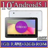 100X 1GB 32GB Allwinner A83T 10 pollici Octa core corto A7 @ 2Ghz Lollipop tablet pc Android 5.1 Bluetooth HDMI OTG 2016 4-10PB