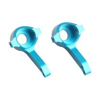 Wholesale Upright Blue - RC HuanQi M0456 Alum Blue Front Knuckle Arm Upright 1:16 731 732 733 734 Buggy