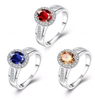 Wholesale Fashion Jewelry Articles - Ms crystal set zircon adorn article ring wholesale fashion silver bracelet charms jewelry cheap gift rings hot 2new 016 3 color free ship