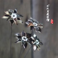 Wholesale Country Clothing Stores - Lingxiaohua decorative art Home Furnishing nostalgic country group original flower clothing store Cafe party mall