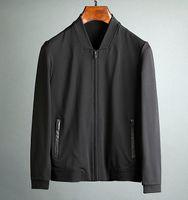 Wholesale Men Fashion Simple Coat Style - Simple style mens designer luxury jacket~weaving stretch fabric outdoor jacket coat~mens cardigan V-Neck jackets