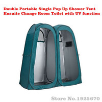 Wholesale Backpacking Tents Sale - Wholesale- Sale Direct factory Couple 2 person Automatic Pop Up Shower Privacy Change Room Toilet Bath Portable Indoor Outdoor Camping tent
