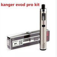 Wholesale Evod Battery Pro Tank - Kanger Evod Pro Starter Kit Top Fill Mouth with 4ml tank All in One Design support 18650 battery mod vapor ecig