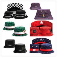 Wholesale Bob Animals - Newest Arrival Diamond Bucket Hats bobs gorras bones High Quality Floral Brand fishing Caps For Men Women cayler sons bucket cap