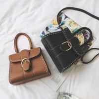 Wholesale N Handbags - n the autumn of 2016 new small bag Korean fashion handbag leisure bag small portable car suture bangalor