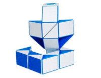 Wholesale Transformable Snake - Yakutia DIAN SHENG Brain Teaser 24-wedge Rubik's Transformable Snake Puzzle (Blue) snake endoscope puzzle cartoon