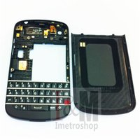 For Blackberry blackberry replacement covers - New OEM Black Full Housing Case Cover for Blackberry Q10 Replacement Parts