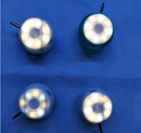 fotografía de iluminación de foco al por mayor-Universal LED Fotografía Flash Light Light Spotlight Cámara Teléfono Complete Selfie Light + 3.5mm Altavoz portátil Amplificador de audio
