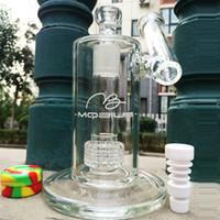 domeless seramik çivi bağı toptan satış-5 MM kalın mobius bong cam petrol sondaj kulesi sigara bongs kuleleri seramik domeless tırnak eklemli su boruları 18.8mm