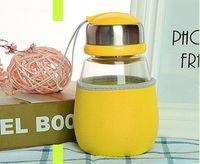 Wholesale Green Tea Portable Cups - Creative Penguin cup portable anti scald cup scented tea cup gift mug Creative lovers love Mug