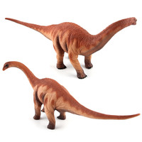 Wholesale Puppets For Kids - Jurassic Dinosaur King Super Simulation Heavy Claw Dragon Hand Puppets Dinosaur Pvc Brontosaurus Models For kids Free Shipping