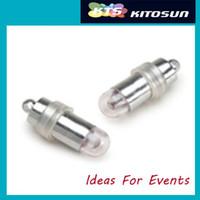 pil ile aydınlatılmış kağıt fenerler toptan satış-Dalgıç Pil Işletilen Mini Parti LED Şenlikli Işıklar Döngü Asılı Kağıt Fener Dekorasyon için 10 adet / grup Ücretsiz Kargo