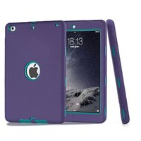 Cover per Apple iPad Air / iPad 5 (2013) Case Cover Amor antiurto Heavy Duty RubberPlastic w / Screen Protector + Stylus Pen
