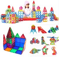 Wholesale Play Magnets - Magnet Building Blocks Toys 3D Children Building Blocks Construction Playing Imagination Inspirational Educational Puzzle Toys HH7-116