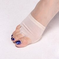 Wholesale Toe Pad Belly Dance - Wholesale-Professional Women Heel Protector Ballet Dance Socks 1 Pair Belly Dance Foot thong Toe Pad Dance Accessories