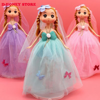 Wholesale Ddung Pendant Dolls - 2016 New Fashion 26cm multicolor wedding ddung Keychain Women Bag phone Pendant Jewelry Creative for girl