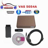 Wholesale Supports Obd2 Protocols - Wholesale-OBD2 Diagnostic Tool Vas5054a VAS 5054A V19 ODIS V2.02 Bluetooth Support UDS Protocol Full chip version with OKI Chip