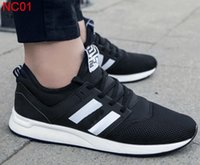 Wholesale Shoes Men 39 - 2017 New men 247 casual sports shoes N Mesh Lightweight Flat Sneakers Outdoor Zapatillas Unisex Sports Running shoes SIZE 39-44
