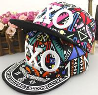 Wholesale Korean Bonnet Hat - kids baseball fited hats 2016 New Children robin hats baby boys bonnets Caps Korean Fashion Sun Caps parent-child hat Adult Casual Hat XW105