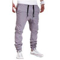 Wholesale Wholesale Pants For Men - Wholesale-Mens Joggers 2016 New Top Man's Sweatpants Ankle-Length Pants Casual Fashional Men Pants Beam Foot Comfortable Trousers For Male