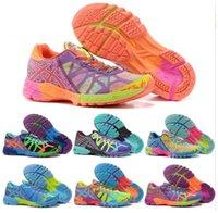 Wholesale Noosa Running Women - 2017 Gel Gel-Noosa Women Running Shoes 100% Original Cheap Jogging Sneakers Lightweight Sports Shoes Free Shipping Size 36-40